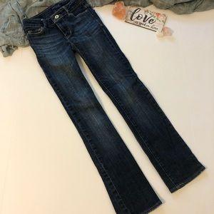 Levi's dark wash skinny jeans size 8 Slim